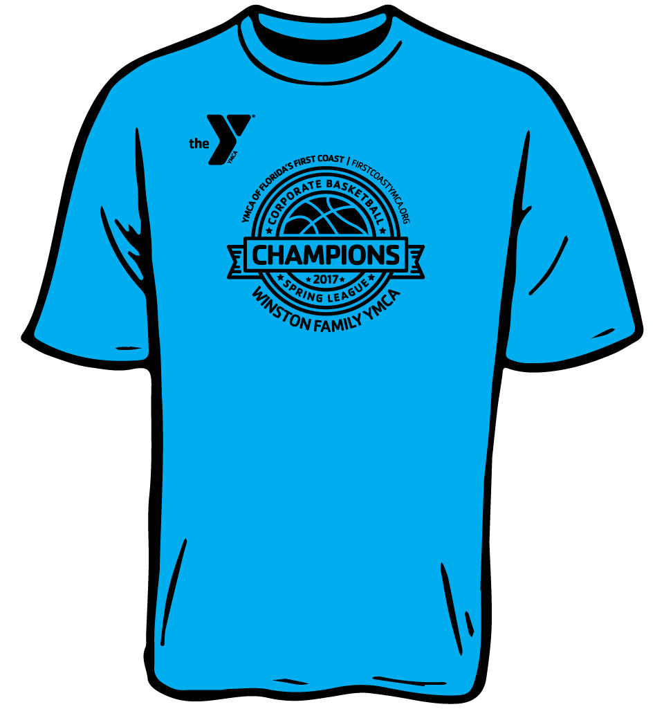 corporate basketball league shirt
